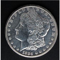 1884-CC MORGAN DOLLAR XF POLISHED