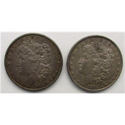 1878 8F MORGAN, 1878 7F MORGAN