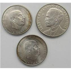 1953 LIBERTAD 50 CENTAVOS, 2 - 1966 100 PITAS