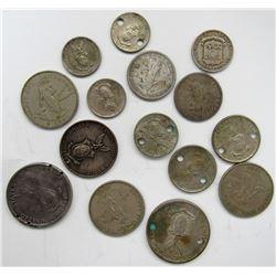 1916 & 1920 PHILIPPINES 20 CENTAVOS; 3 - 1960'S 25