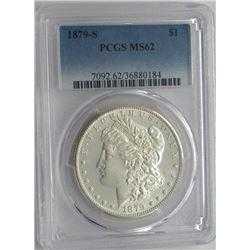1979-S PCGS MS62 Morgan Silver Dollar $