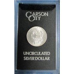 1884 GSA CARSON CITY MORGAN SILVER DOLLAR