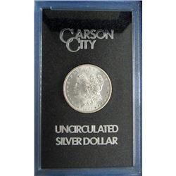 1885 GSA CARSON CITY MORGAN SILVER DOLLAR