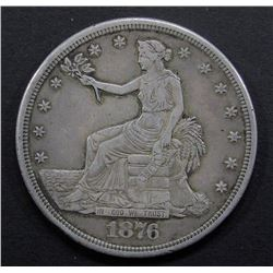 1876-S TRADE DOLLAR VF