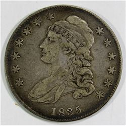 1835 CAPPED BUST HALF DOLLAR VF/XF