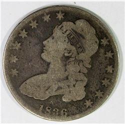 1836 CAPPED BUST HALF DOLLAR VG