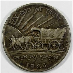 1926-S OREGON TRAIL HALF VF