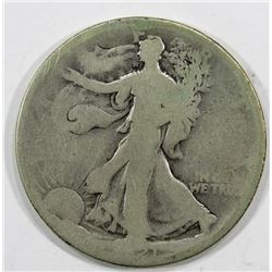 1921 WALKING LIBERTY HALF AG