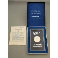1881-CC GSA MORGAN DOLLAR