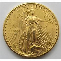 1924 SAINT GAUDENS DOUBLE EAGLE