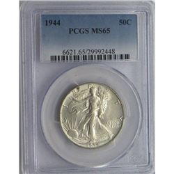 1944-P PCGS MS65 Walking Liberty Half Dollar 50C