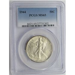 1944-P PCGS MS65 Walking Liberty Half Dollar
