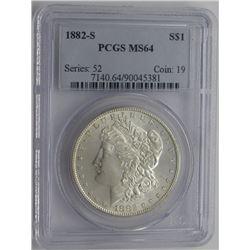 1882-S PCGS MS64 MORGAN DOLLAR