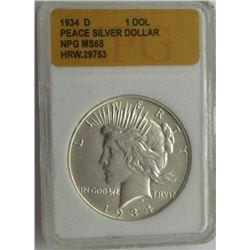 1884-O PGS MS63 MORGAN SILVER DOLLAR