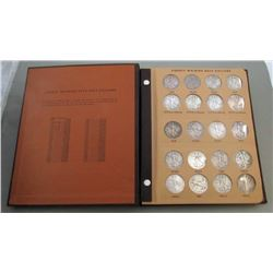 COMPLETE WALKING LIBERTY HALF DOLLAR SET in ALBUM