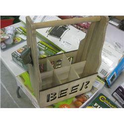 WOOD BEER 6 PAK BOX