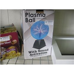 PLASMA BALL WITH SOUND ACTIVATION