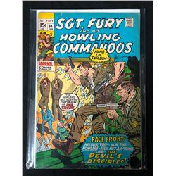 SGT. FURY & HIS HOWLING COMMANDOS #84 (MARVEL COMICS)