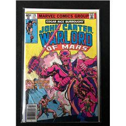 JOHN CARTER WARLORD OF MARS #28 (MARVEL COMICS)