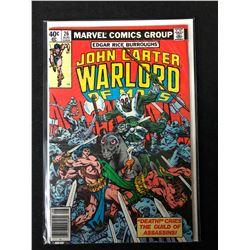 JOHN CARTER WARLORD OF MARS #26 (MARVEL COMICS)
