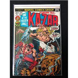 KA-ZAR #20 (MARVEL COMICS)