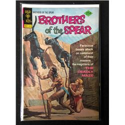 1974 BROTHERS OF THE SPEAR #10 (GOLD KEY COMICS)