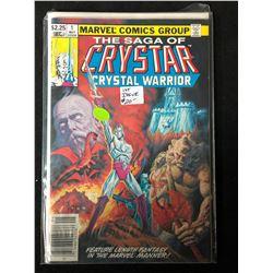 THE SAGA OF CRYSTAR CRYSTAL WARRIOR #1 (MARVEL COMICS)