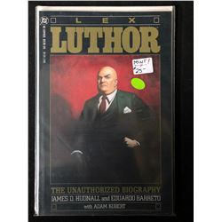 LEX LUTHOR THE UNAUTHORIZED BIOGRAPGHY (DC COMICS)