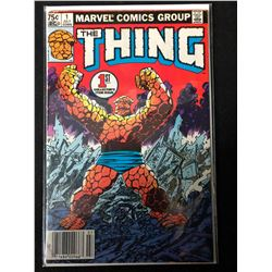 THE THING #1 (MARVEL COMICS) 1ST COLLECTOR'S ITEM ISSUE*