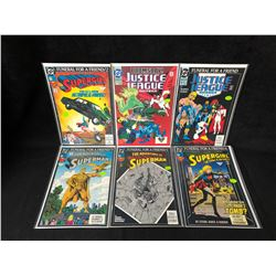 DC COMIC BOOK LOT (SUPERMAN/ SUPERGIRL/ JLA)