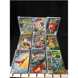 SUPERMAN COMIC BOOK LOT (DC COMICS)