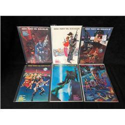 NICK FURY VS S.H.I.E.L.D COMIC BOOK LOT