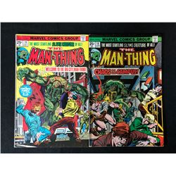 THE MAN-THING COMIC BOOK LOT #18/ #19 (MARVEL COMICS)