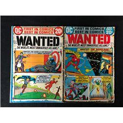 WANTED #1/ #2 (DC COMICS)