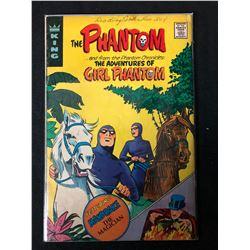 THE PHANTOM and the Adventures of GIRL PHANTOM Comic Book  (King Comics)