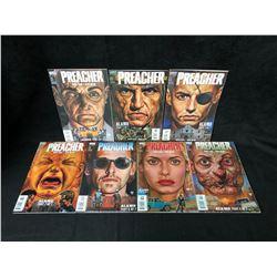PREACHER COMIC BOOK LOT #1-7 (VERTIGO DC COMICS)