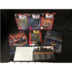 SHADOW OF THE BAT COMIC BOOK LOT (DC COMICS)
