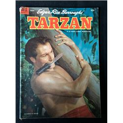 1954  Edgar Rice Burroughs Tarzan #54 (Dell Comics)
