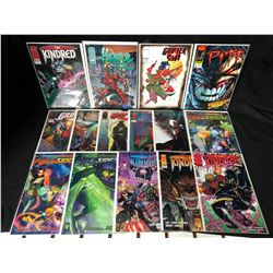 IMAGE COMICS BOOK LOT (THE KINDRED/ GRIFTER SHI...)