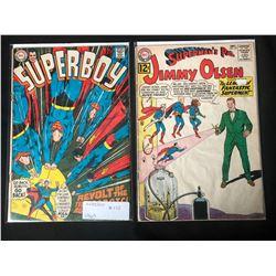 1960'S DC COMICS BOOK LOT (SUPERBOY #155/ JIMMY OLSEN #63)
