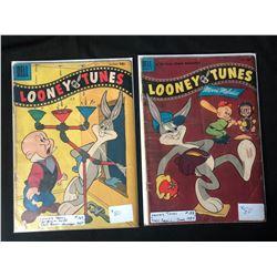1950'S LOONEY TUNES COMIC BOOK LOT #169/ #152 (DELL COMICS)