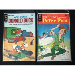 GOLD KEY COMIC BOOK LOT (DONALD DUCK/ PETER PAN)