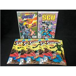 COMIC BOOK LOT (SUPERMAN/ GUNFIRE/ SCU)