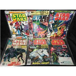 STAR WARS COMIC BOOK LOT (MARVEL COMICS)