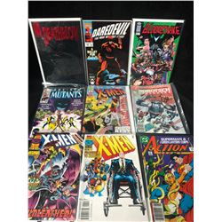 COMIC BOOK LOT (DAREDEVIL/ X-MEN/ NEW MUTANTS...)