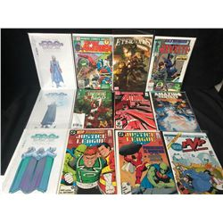 COMIC BOOK LOT (BATMAN/ JUSTICE LEAGUE/ HAWKEYE...)