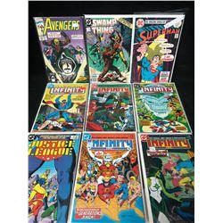 COMIC BOOK LOT (AVENGERS/ SWAMP THING/ SUPERMAN...)