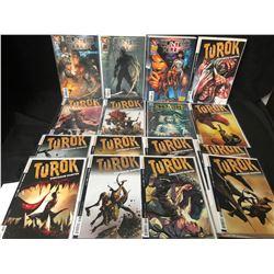 TUROK/ HUNTER KILLER COMIC BOOK LOT