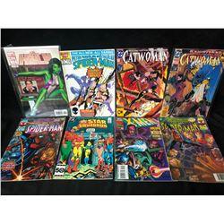 COMIC BOOK LOT (CATWOMAN/X-MEN/ SPIDER-MAN...)