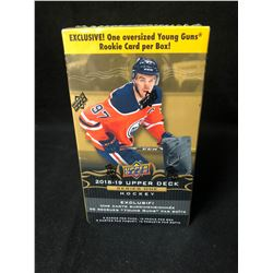 2018-19 Upper Deck Series 1 Hockey Box Oversized Young Guns Rookie Card